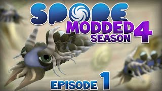 getlinkyoutube.com-SPORE: Modded - DREADLOCKS!! | Ep1 Season4 - Spore Cell Stage