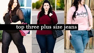 getlinkyoutube.com-Plus Size Jeans : The Top Three Pairs of Jeans you Need to Own