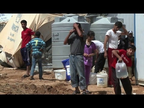 Syrian refugees in Jordan want more action, less talk
