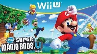 getlinkyoutube.com-#1 Zagrajmy w New Super Mario Bros. U - WORLD 1 - Wii U PL