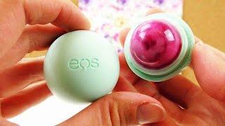 EOS Lipbalm Seife selber machen | DIY Soap in EOS Lippenpflege | Pinke EOS Seife zum Mitnehmen