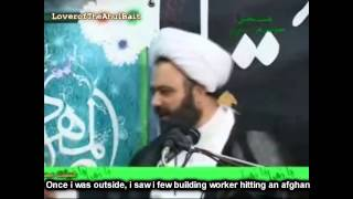 Shaykh Daneshmand about afghans and arabs in Iran English Subbed