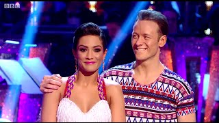 getlinkyoutube.com-Frankie Bridge (The Saturdays) - Strictly Come Dancing Final - 20th December 2014