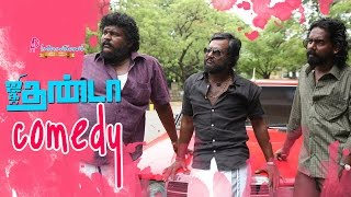 getlinkyoutube.com-Jigarthanda Tamil Movie | Back 2 Back Comedy Scenes | Siddharth | Lakshmi Menon | Bobby Simha