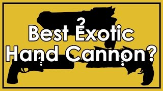 """getlinkyoutube.com-Destiny: Hawkmoon vs. Thorn vs. Last Word - Is There a """"Best"""" Exotic Hand Cannon?"""