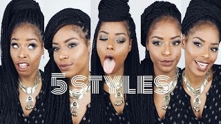 getlinkyoutube.com-How to Style Senegalese Twists/Box Braids