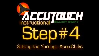 getlinkyoutube.com-Learning the Accutouch Step #4: Setting the Yardage Accu-Clicks