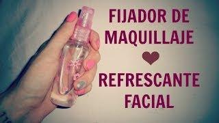 getlinkyoutube.com-Fijador de maquillaje casero.♥