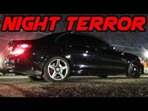 Supercharged BENZ Takes Down 700hp STi AND CORVETTE!