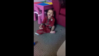 getlinkyoutube.com-Do babies always do this when they take their pants off?