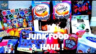 getlinkyoutube.com-Junk Food & Candy Haul, Blind Bag Preview