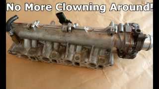 getlinkyoutube.com-Saab 9-3 tid cdti jtd z19dth Swirl Flaps Swirl valves removal.