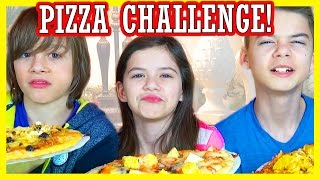 getlinkyoutube.com-THE PIZZA CHALLENGE!  |  DISGUSTING INGREDIENTS!  |  KITTIESMAMA