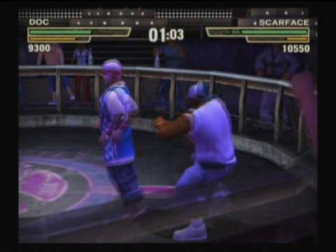 Def Jam Fight for NY - Doc vs Scarface (Hard)