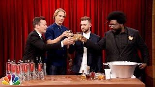 getlinkyoutube.com-Justin Timberlake Teaches Jimmy How to Make a Tequila Cocktail
