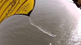 getlinkyoutube.com-INFINITY V3 proto in very light winds on SUP in the waves.m4v