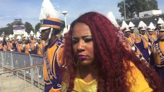 getlinkyoutube.com-Alcorn Marching in for Homecoming ft The Dancing Dolls 2015-2016