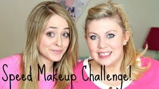 Speed Makeup With Sprinkle of Glitter!