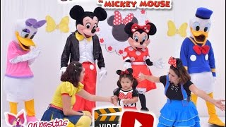 getlinkyoutube.com-Show infantil La casa de Mickey Mouse - Show Maripositas