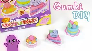 Gumki DIY ciasta i cupcake - Kutsuwa eraser kit #7