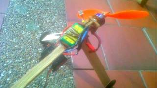 getlinkyoutube.com-How to make a homemade RC plane