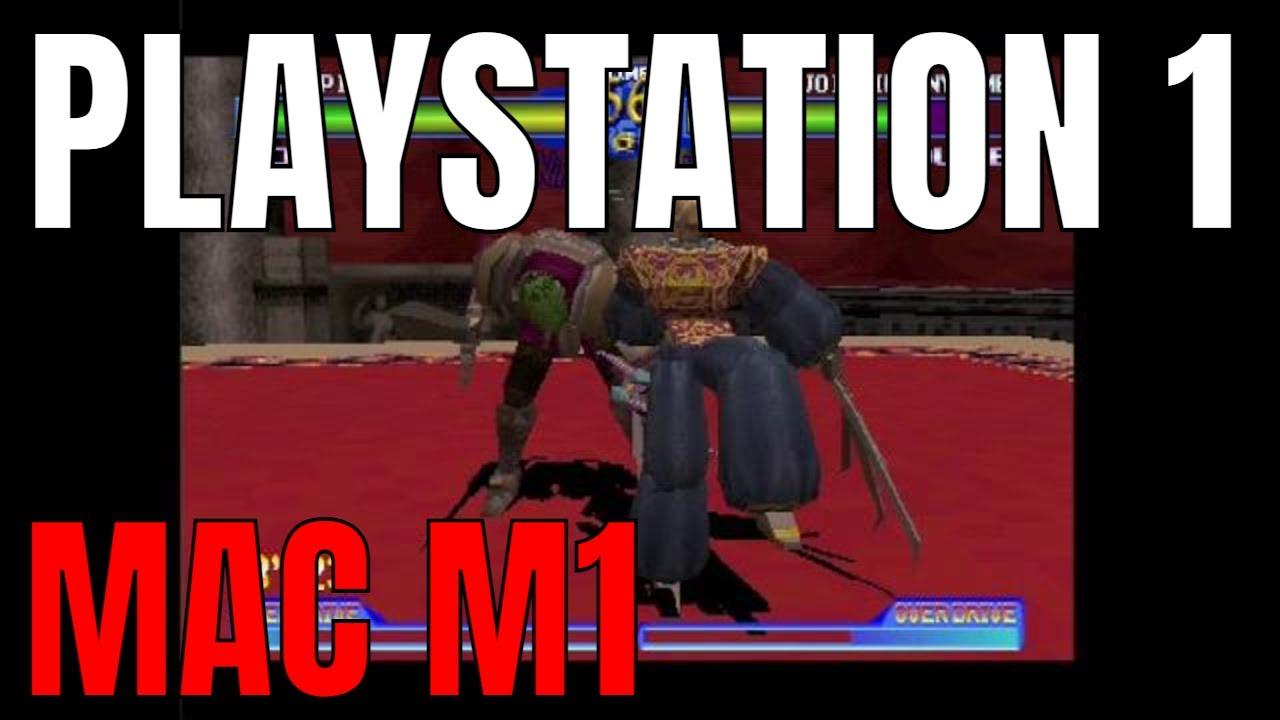 Playstation 1 DEMO DISC on M1 Mac