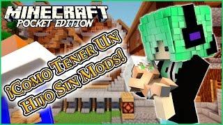 getlinkyoutube.com-¡Como Tener Un Hijo Sin Mods En Minecraft PE! Hijo Sin Mod MCPE 0.15.6