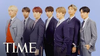 K-Pop's BTS On Why They're Unique, Their Parents' Generation & More | Next Generation Leaders | TIME width=