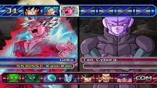 getlinkyoutube.com-Dragon Ball Z Budokai Tenkaichi 3 - Goku SSGSS Kaio-ken VS HIT Red Potara *Epic Battle (1080p)