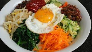 getlinkyoutube.com-Bibimbap (비빔밥) & Dolsot-bibimbap (돌솥비빔밥)