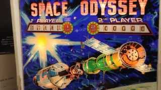 1976 Williams  SPACE ODYSSEY (Space Mission) pinball machine