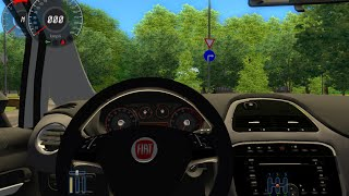 getlinkyoutube.com-City Car Driving - Fiat Punto