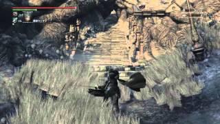 getlinkyoutube.com-フル強化の落葉の能力とモーション  試し切り  ブラッドボーン オールドハンターズ  DLC【Bloodborne: The Old Hunters】