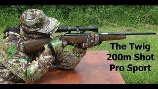 getlinkyoutube.com-218 YARD AIR RIFLE SHOT - Exploding Air Gun Sniper Shot