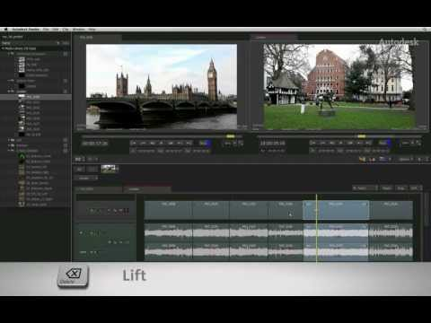 Timeline Editing: Splice, Extract, Lift and Sub-clipping