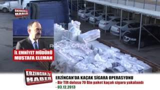 Tır'dan 70 Bin Paket Kaçak Sigara Çıktı