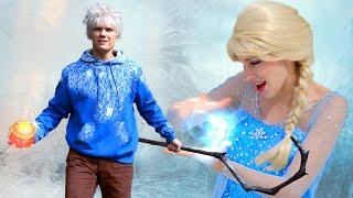 getlinkyoutube.com-Disney Frozen 2 Elsa and Guardian Jack Frost - Find a Way (Jelsa) Fanfiction