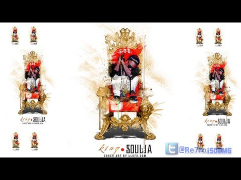 New Music: Soulja Boy Ft. Paul Allen * Jordans Gold Chains #KingSouljaMixtape