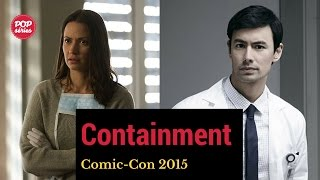 SDCC 2015: George Young e Kristen Gutoskie de Containment