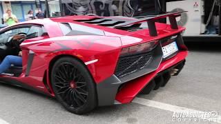 getlinkyoutube.com-★ Lamborghini AVENTADOR SV (LP750-4) - REVS and EXHAUST SOUND!!