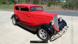 "getlinkyoutube.com-1933 Ford Victoria ""Vickie"" Custom Street Rod Start Up, Exhaust, and In Depth Review"