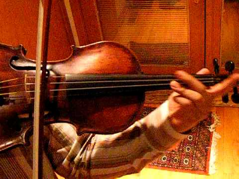Fine 150 year old Violin, Sound Sample, Exc. of Tchaikovsky Violin Concerto in D minor, 2nd mov