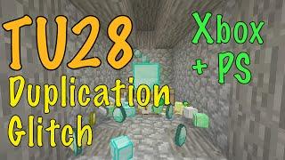 getlinkyoutube.com-Minecraft Xbox / PS - TU28 - DUPLICATION GLITCH - ANY BLOCK - TUTORIAL - NEW + WORKING