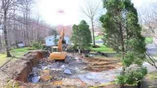 getlinkyoutube.com-Time Lapse House Demolish next door HD 1080