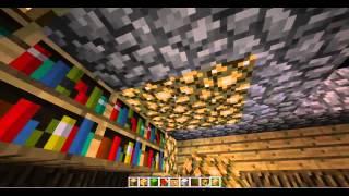 minecraft 2709 מיינקראפט איך בונים בית מפואר