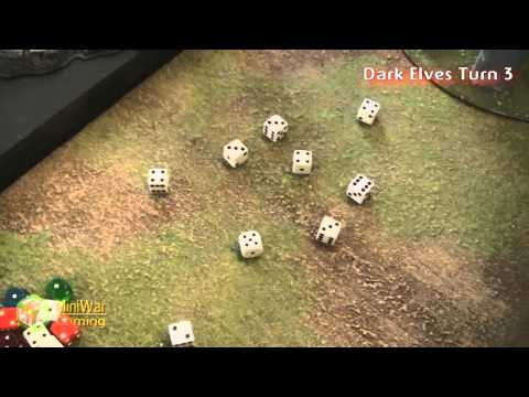 Dark Elves vs Tomb Kings Warhammer Fantasy Battle Report - Part 3/3 - Beat Matt Batrep