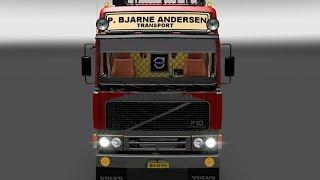 getlinkyoutube.com-Volvo F10 1000HP 8x4 + 55ton Baobad Trailer(Euro truck simulator 2)