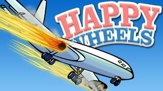 getlinkyoutube.com-PLANE CRASH LEVELS - Happy Wheels Episode 12
