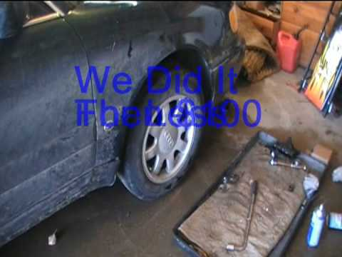 Front Wheel Bearing Replacement Audi A6