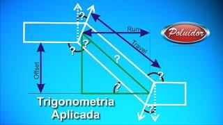 getlinkyoutube.com-Trigonometria Aplicada tubulação - Achando ângulos #04